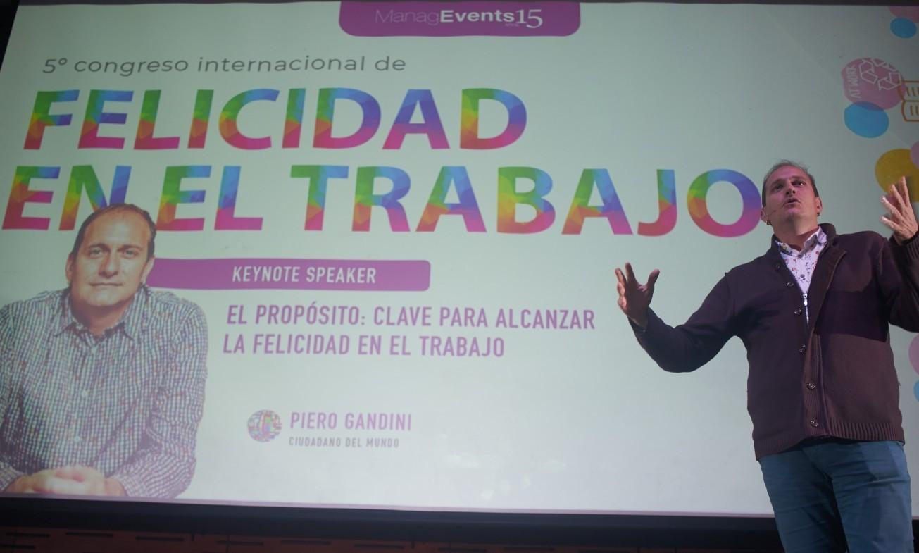 Piero Gandini - Congreso Felicidad en el Trabajo 2019