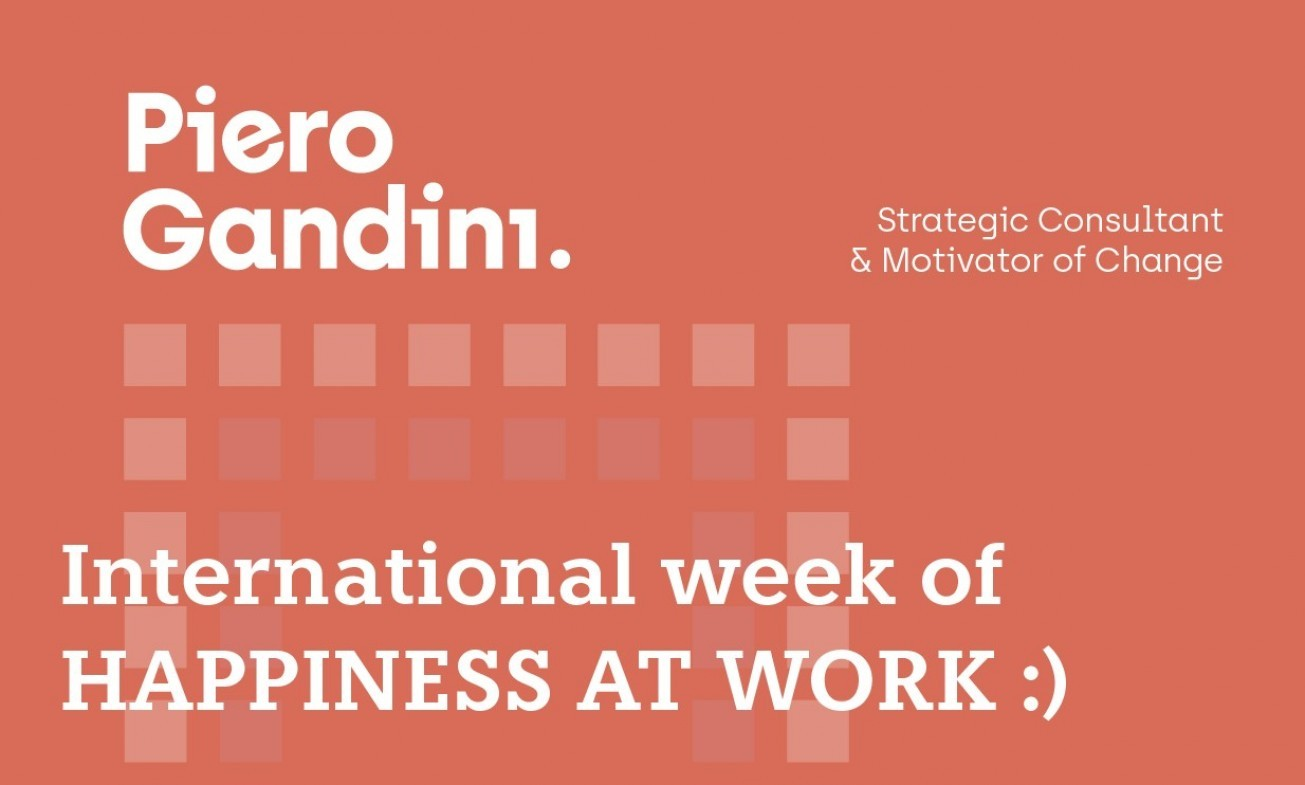 Piero Gandini- Week of Happiness at Work 2019